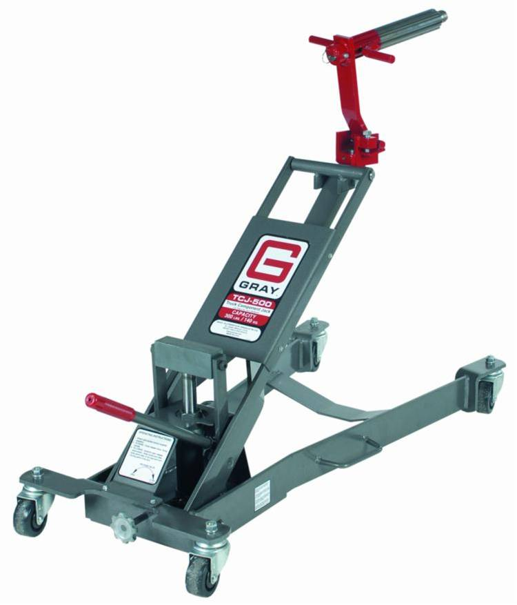With optional adapters, the TCJ-500 is a truck component jack that enhances your fleet services team's flexibility.